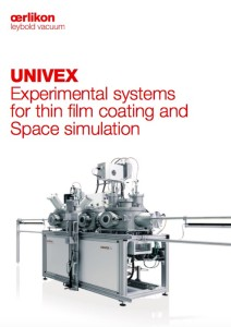 Research and Development - Pilot Production Vacuum Systems Product Literature