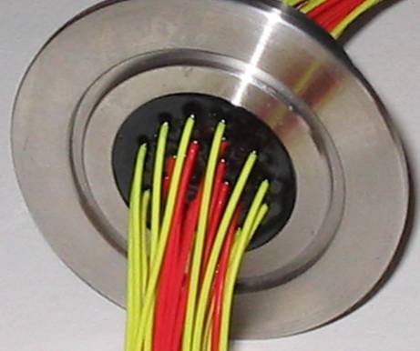 Wire Seal Feedthroughs For Vacuum And Glove Box Applications