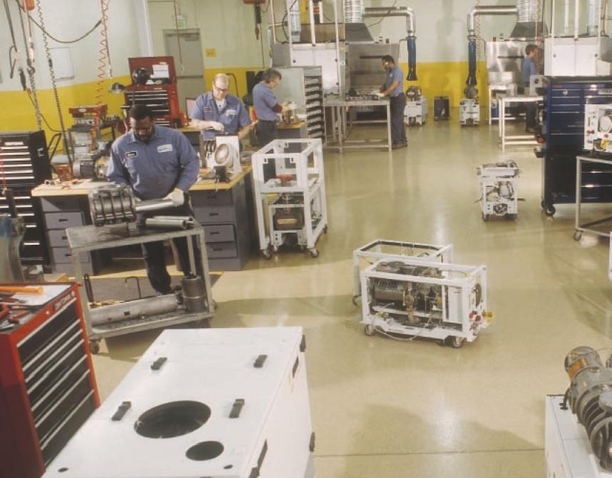 ADVACO for vacuum pump rebuilds