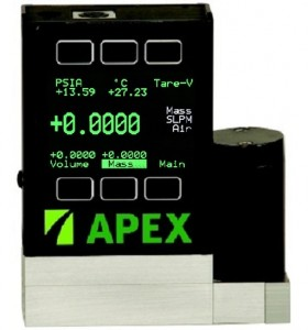 Mass Flow Meters or mass flow controllers