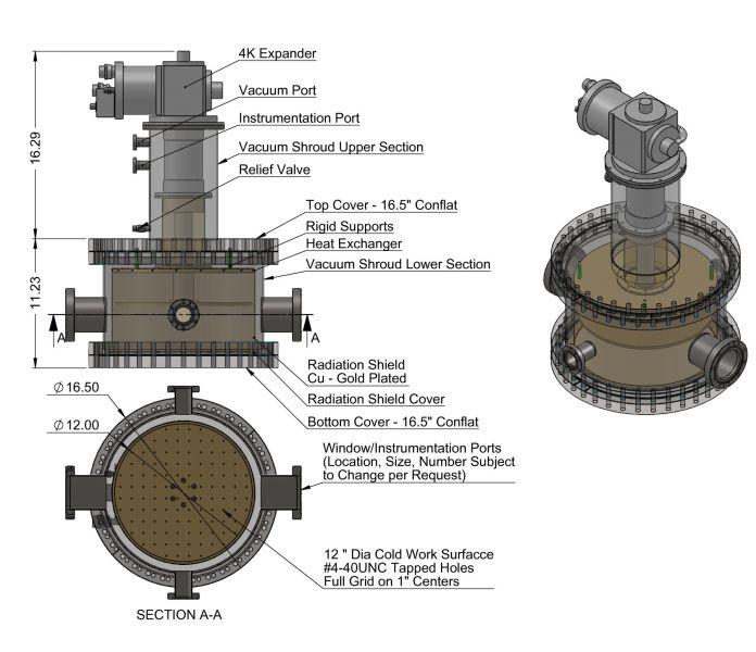 Custom-Cryostat