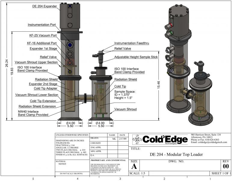 Laboratory-Cryostat-Sample-Storage-short-vapor-tube