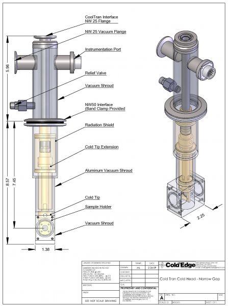 Open-Cycle-Cryostat-Narrow-Gap-Optical