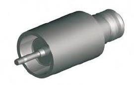 Microdot Vacuum Feedthrough Weld Flange