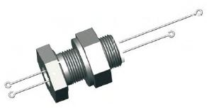 Vacuum Thermcouple Feedthrough Basepe Flangelat