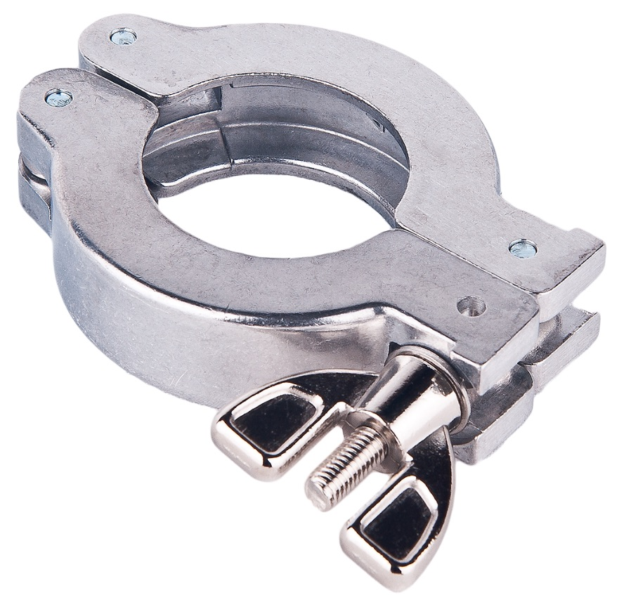 KF wing nut clamp