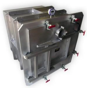 Vacuum box chamber