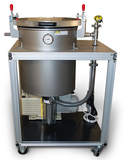 System for Degassing a Product