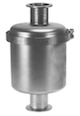 metal sieve traps for high vacuum